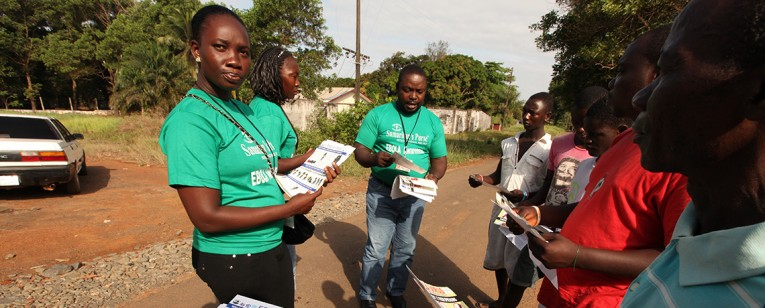 Samaritan's Purse is working with churches and communities to educate people about Ebola